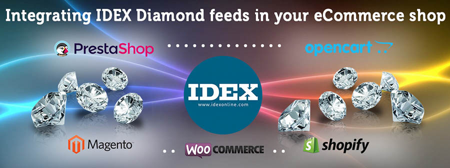 Integrating IDEX Online Diamonds