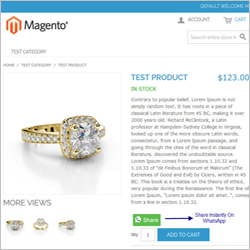 Magento Product Sample