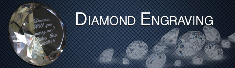 diamond engraving