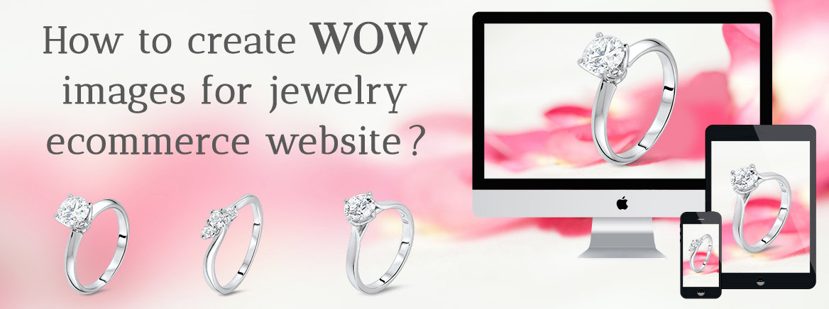 Jewelry Images for ecommerce website Best practises