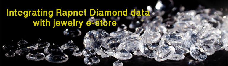 How Rapnet diamond Listing is Integrated in your e-commerce website