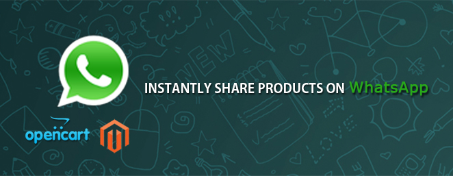 instantly share product on whatsapp