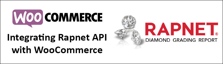 Rapnet API Integration with Woocommerce