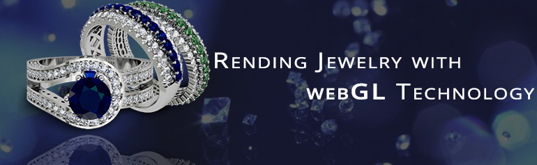 Jewelry with WebGL Technology