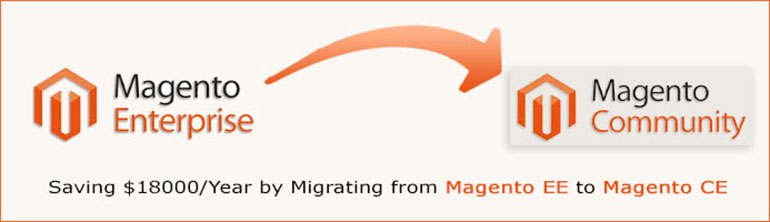 Migrating from Magento Enterprise Edition (EE) to Magento Community Version (CE)