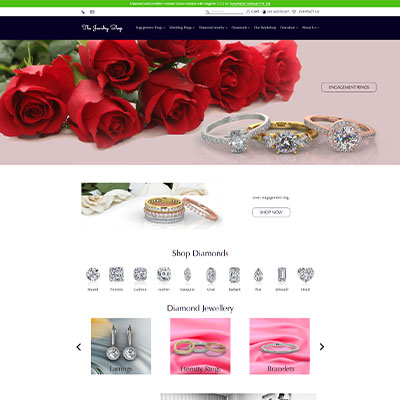 Ecommerce website developed on Magento CE 2.3.2