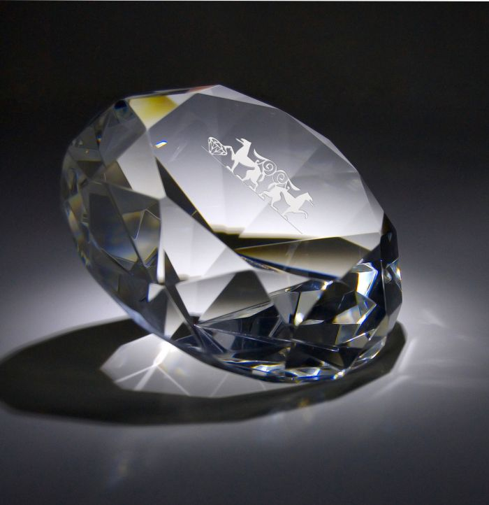 engraving personal messages on diamonds