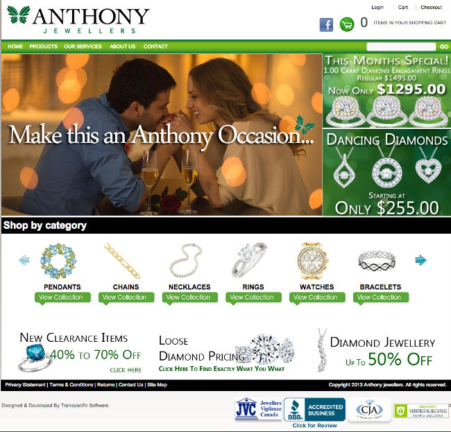Anthony Jewellers