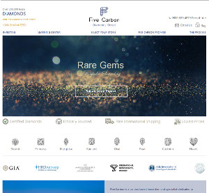IDEX diamonds integrated website