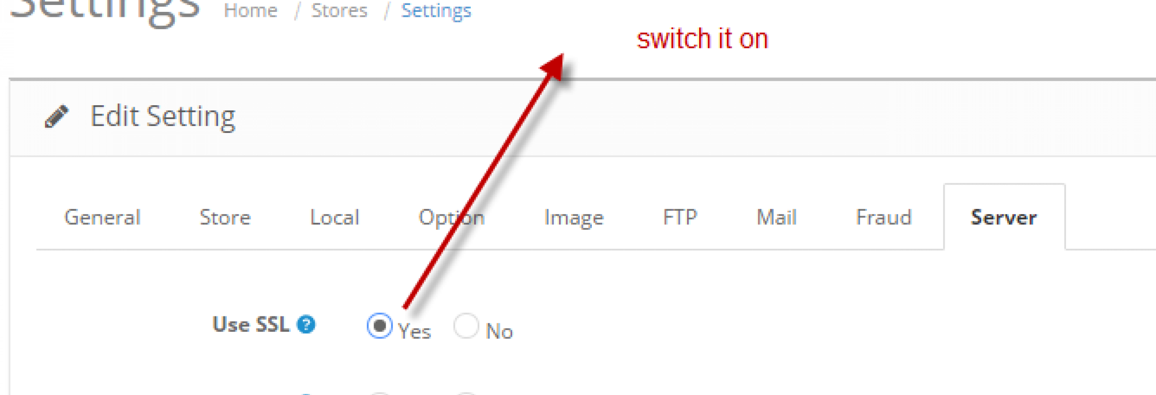 How to install and activate ssl certificate for opencart admin ssl switchong xflitez Image collections