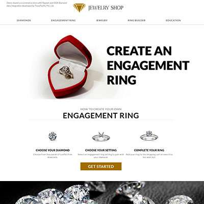 Diamond Store on OpenCart