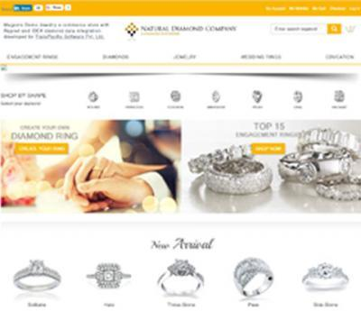 Magento 1.9 Diamond & Jewelry ecommerce website