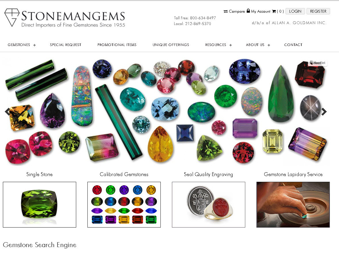 Stonemangems Website Link